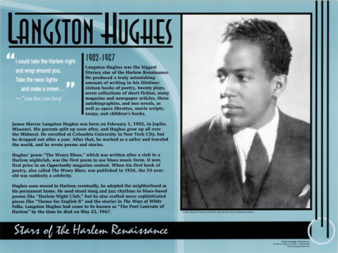 langston hughes critique Critique of julie aberdeen's essay on the writings of langston hughes during the harlem renaissance 638 words | 3 pages critique of julie aberdeen's essay on the writings of langston hughes during the harlem renaissance aberdeen's essay on langston hughes and the harlem renaissance had a clear theme that was supported throughout by.